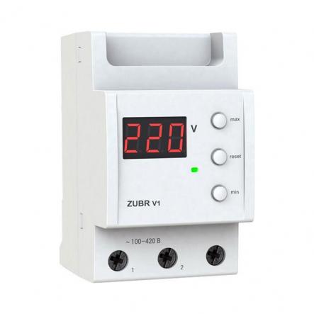 Вольтметр-цифровой индикатор напряжения glaz V1(ZUBR) - 1