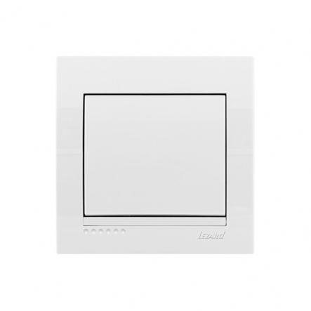 Выключатель белый DERIY LEZARD - 1