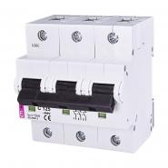 Автоматический выключатель ETI С 125A 3p 10kA 2135733