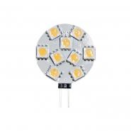 Лампа светодиодная LB-16 JC  9LEDs 12V 2W  2700K G4 Feron