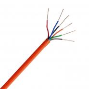Провода для охранной и пожарной сигнализации пониженной пожароопасности СКВВнг-LS 8х0,4