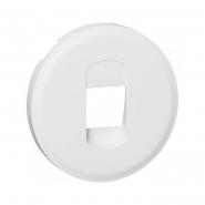 Лицевая Панель Розетки аккустической одинарная белый Legrand