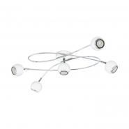 Люстра 3W GU10 LED бел/хром EGLO