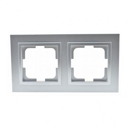 Рамка 2-я , Mono Electric, DESPINA (серебро) - 1