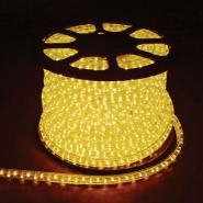 Дюралайт светодиод. 2-пол. желтый