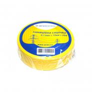Изолента 0,13мм х 19мм*20м желт ACKO