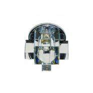 Светильник точечный Feron C1037  G9  хром мультиколор