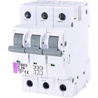 Автоматический выключатель ETI 3р 16А 6kA 2145516 - 1