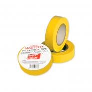 Изолента MASTER 25м желтая