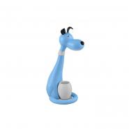 Настольная лампа SMD LED 6W  (собака) син дим. 350Lm (был 049-029-00061)