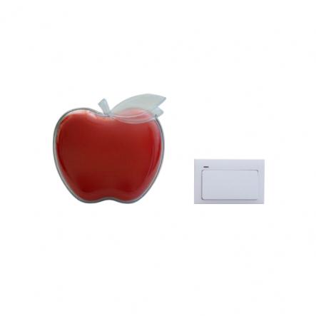 """Звонок QH-915красный """"яблочко"""" (DB336) - 1"""