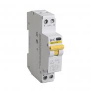Дифференциальный автоматический выключатель IEK АВДТ-32М 1+Nр 32А 30мА