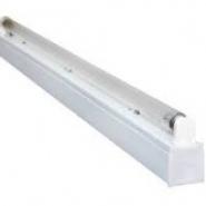 Светильник люминисцентный 1х18W с ЭПРА без лампы