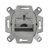 Механизм комп.розетки RJ-45 Cat.5 одинарный накл.выход