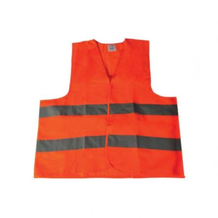 Жилет со светоотражающей лентой оранжевый - 1