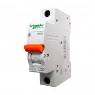 Автоматический  выключатель Schneider Electric  ВА 63 1п 32А 11206