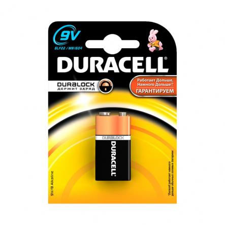 Батарейка Duracell 9V/MN 1604 крона - 1
