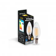 Лампа светодиодная  LB-68 dimm C37 230V 4W 400Lm E14 2700K (диммер) Feron