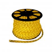 Дюралайт светодиод. 3-пол. желт.(72 led/m) квадрат.11.5x17.5