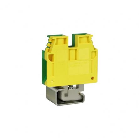 Клемма винтовая зазем. ESC-TEC.10/O (10 мм2, желт-зел.) - 1