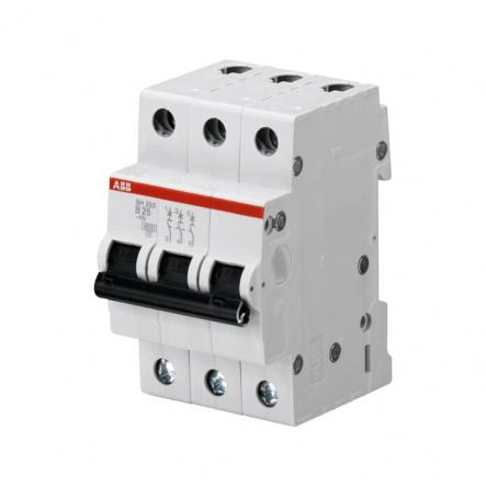 Автоматический выключатель ABB SH203 B25 3p 25A(2CDS213001R0255 - 1