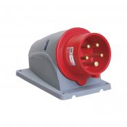 Вилка стационарная ССИ-515 16А-6ч/200/346-240/415В 3Р+РЕ+N IP44 MAGNUM ИЭК