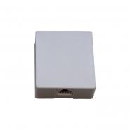 Комп. розетка x1 (8Р8С) на липучке 5-ой кат. см. аналог арт.2-0630