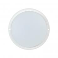 Светильник ДПО4001 белый круг  LED 8Вт 4000К IP54 ИЕК