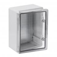 Корпус пластиковый ЩМПп 400х300х170мм прозрачная дверь УХЛ1 IP65 IEK