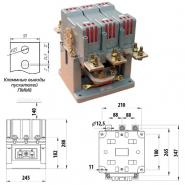 Магнитный пускатель ПММ-8/630А 380В Промфактор