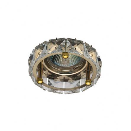 Светильник точечный Feron CD4525 MR-16 G5.3 прозрачный золото - 1