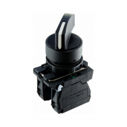 Кнопка поворотная 3-х позиционная удлиненная ручка TB5-AJ33  АСКО-УКРЕМ
