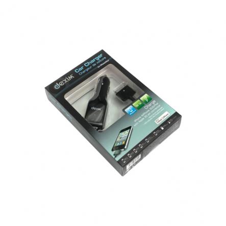 Автомобільний ЗП для iPod,iPhone Dexim DCA022A-B - 1