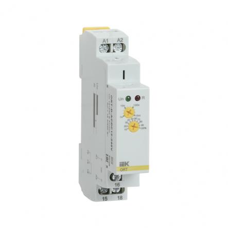 Реле задержки выключения при снятии питания IEK ORT. 12-240 В AC/DC ORT-D-ACDC12-240V - 1