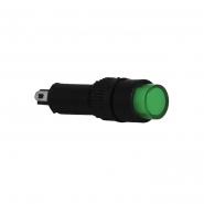 Сигнальна арматура AD22E-8DS зеленая 220V АC