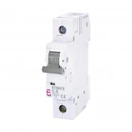Автоматический выключатель ETI С 6A 1p 6кА 2141512