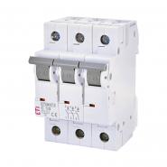 Автоматический выключатель ETI  3р 10А 6kA 2145514