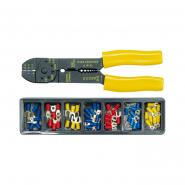 Съемник изоляции+кусачки эл/проводников с контакт. наконечниками кпл.100шт.