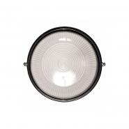Светильник НПП 1101черный-круг 100 Вт металличкский корпус IP54