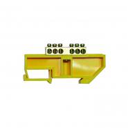 Нулевая шина с изолятором  на  DIN-рейку ВС - 4А 06