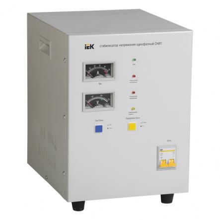 Стабилизатор напряжения СНИ1- 7 кВА эл-механ. однофазний IEK - 1