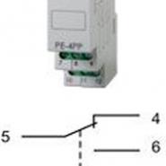 Электромагнитное реле Электросвит РЕ-4РР  220В 1S(PK-4PR)