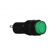 Сигнальна арматура AD22E-10DS зеленая  24V АC/DC