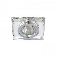 Светильник точечный Feron 8150-2 серебро/серебро