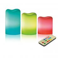 Ночник DELUX  LED свеча DELUX TF-200 свечи овал(3),RGB с пультом