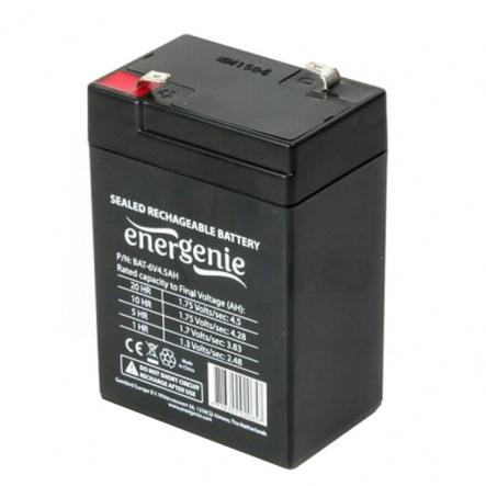 Аккумуляторная батарея EnerGenie BAT-6V4.5AH 6B 4.5Ач - 1