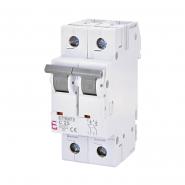 Автоматический выключатель ETI 6 2p C 25А (6 kA) 2143518