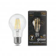 Лампа Gauss LED Filament Graphene  A60  E27 12W 2700К