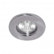 Светильник точечный DL10 MR-16 серебро Feron