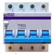 Автоматический выключатель АСКО-УКРЕМ ВА-2002 3+N 4р C 16А